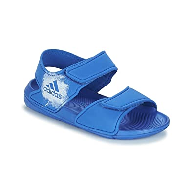 the latest e9adb 99ca0 adidas Performance Unisex-Child ALTASWIM C Blau SandalenSandaletten 31