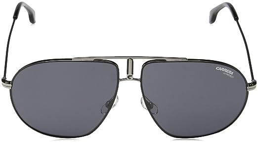 Amazon.com: Carrera Bound TI71R Black / Grey Bound Aviator Sunglasses Lens  Category 3 Size: Carrera: Clothing