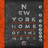New York Mets Eye Chart Love My Team - Square