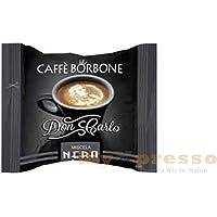 200 Capsule Compatibili Lavazza a Modo Mio Caffe' Borbone Don Carlo Miscela Nera