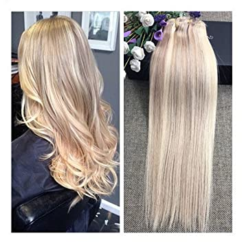 Amazon full shine 18 9 pieces color 18 and 613 blonde full shine 18quot 9 pieces color 18 and 613 blonde thick clip in pmusecretfo Images