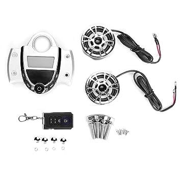 Amazon.es: KIMISS 12V Alarma de motocicleta Altavoz estéreo ...