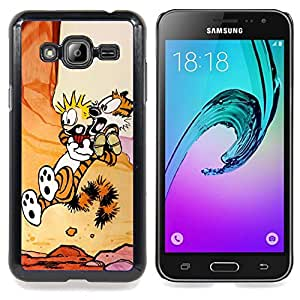 SKCASE Center / Funda Carcasa protectora - Calvin Hobb;;;;;;;; - Samsung Galaxy J3 GSM-J300