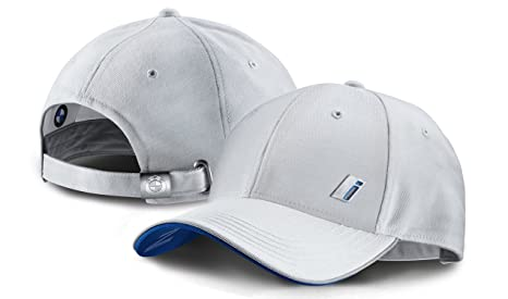 Gorra unisex ajustable de BMW, colores blanco y azul (80162411525)
