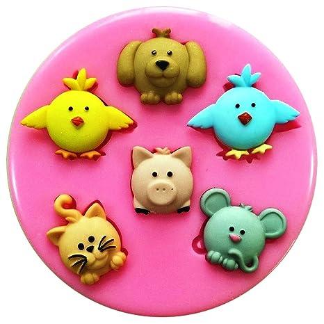 Fairie Blessings Molde de silicona para decoración de pasteles, pasteles, pasteles, glaseado,