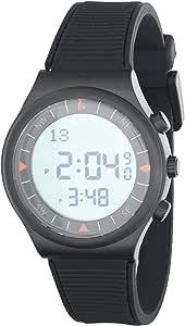 ساعة رياضية بعقارب رقمية من الفجر الحديث، طراز AL220 - باللون الاسود