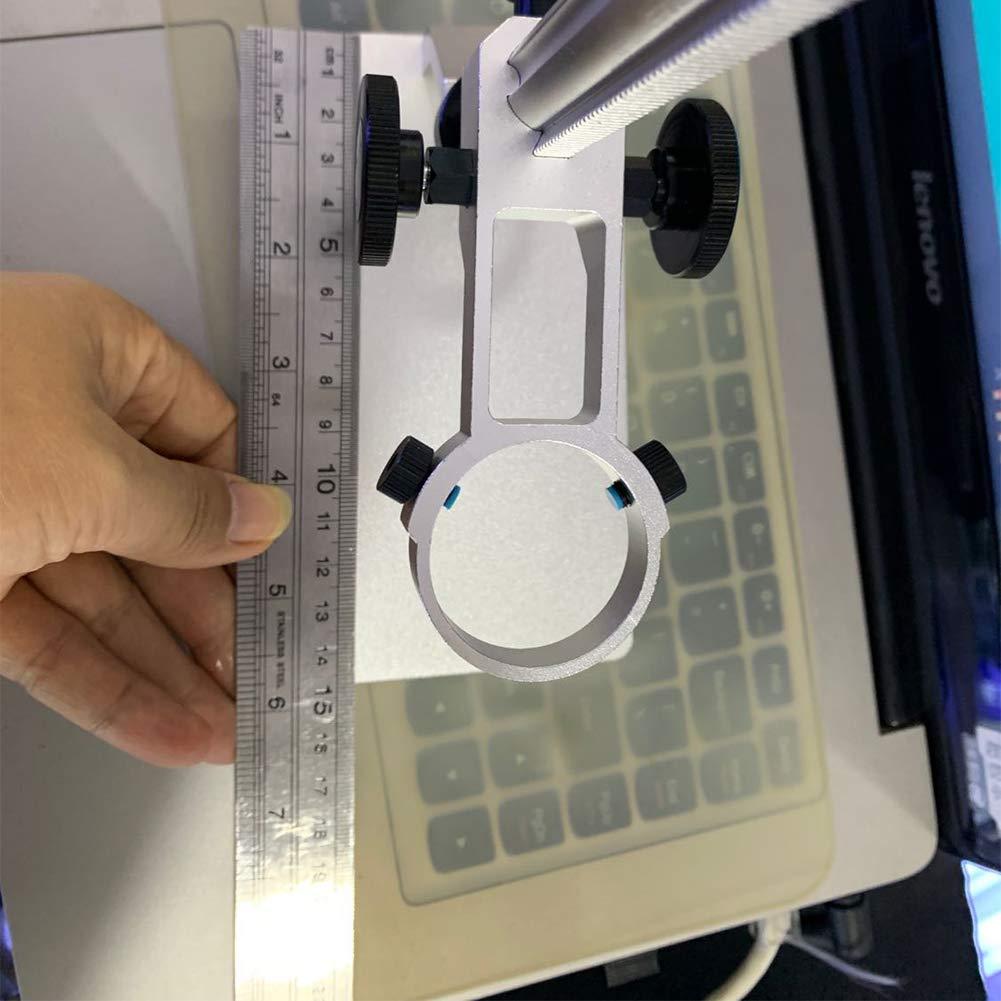 AXH Microscope Stand Lift Adjustment Bracket Portable Digital Microscope Stand Free Rotary Bracket for Digital Microscope USB Microscopes