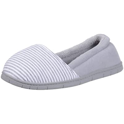 Dearfoams Women's Katie Mini Stripe A-line Slipper | Slippers