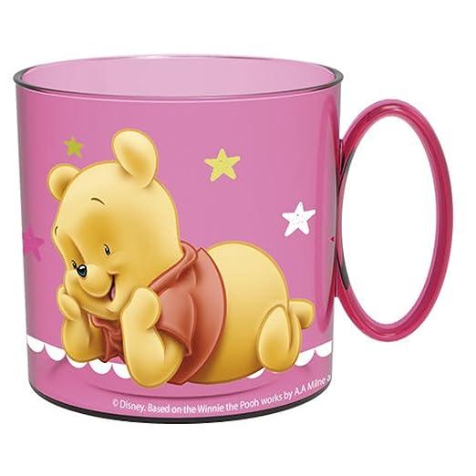 STOR Taza Winnie The Pooh Disney baby microondas rosa ...