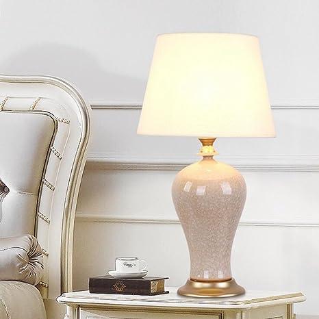 Cinese, Panno, lampada da tavolo, camera da letto, lampada da ...