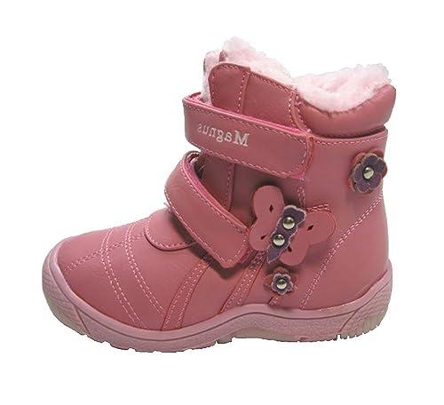 the latest c1dd8 03415 Magnus Kinder Winter Schuhe, Mädchen Halbstiefel, Gr.21-26