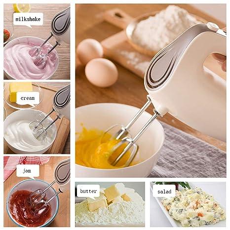 WEDEHANGE Herramienta De Cocina 125w 5 Ficheros Batidor De Huevos Cocina Agitador Hogar Eléctrico Batidora De Mano Crema De Leche Máquina Espumadora ...