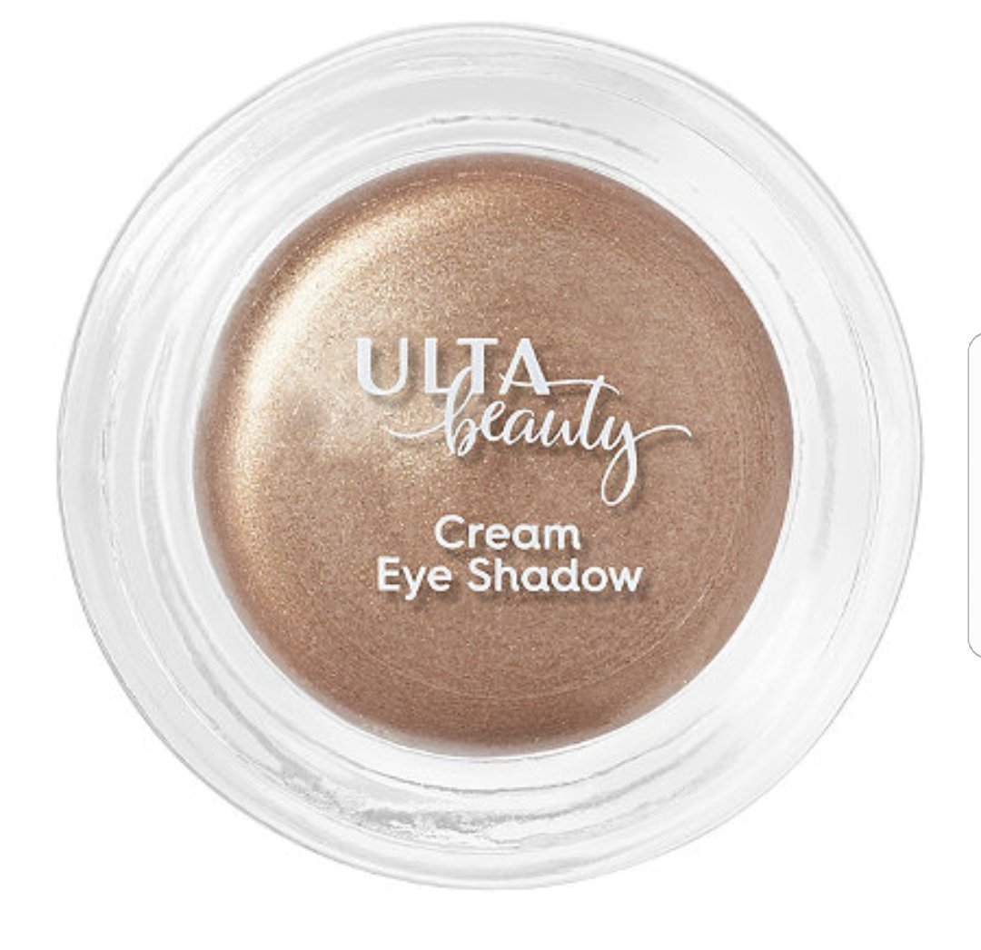 ULTA Cream Eyeshadow. Metallic (medium cool brown shimmer) 0.09 Oz