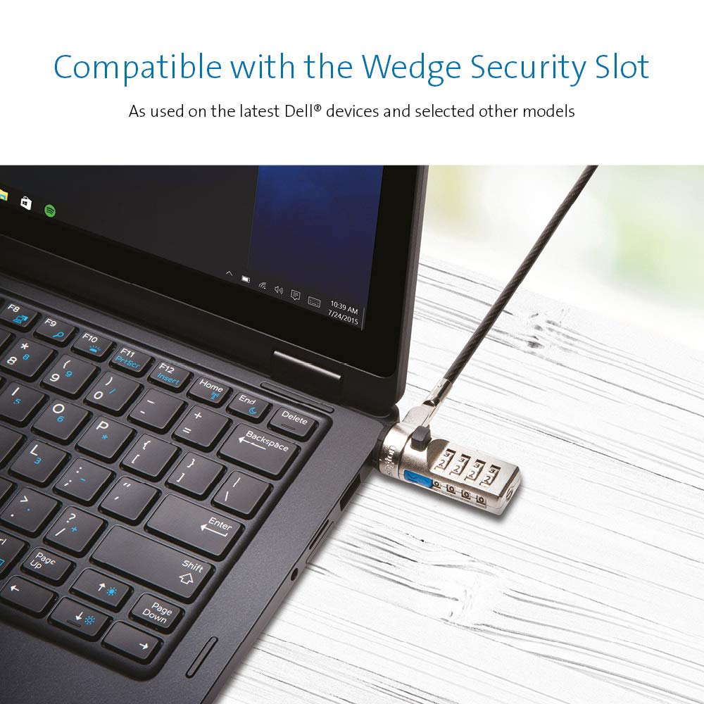 Amazon Kensington N17 Dell Cable Lock For Laptops With Wedge