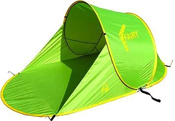 Best C& Fairy Pop Up Beach Shelter - Green/Yellow 200 x 120 x  sc 1 st  Amazon UK & Best Camp Fairy Pop Up Beach Shelter - Green/Yellow 200 x 120 x ...