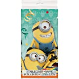 "Despicable Me Minions Plastic Tablecloth, 84"" x 54"""