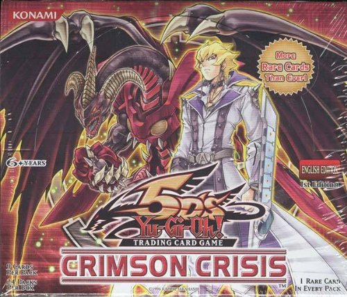 Yu-Gi-Oh! US version Crimson Crisis BOX (japan import) Crisis Pack