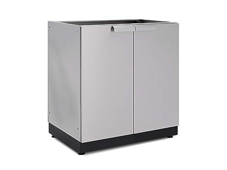 New Age Outdoor Kitchen 2 Door Cabinet In Stainless Steel