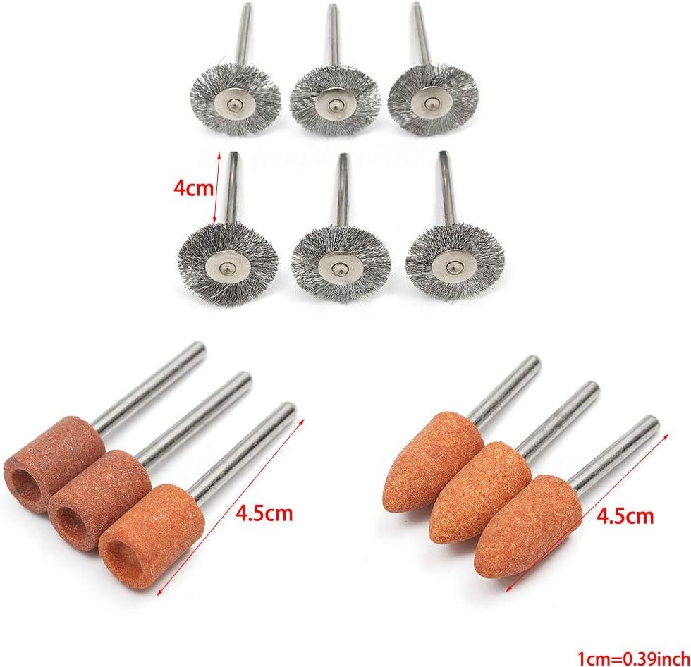 VAILANG 347Pieces Meulage Pon/çage Polissage Outil Rotatif Roue Kit Accessoire Set pour Dremel