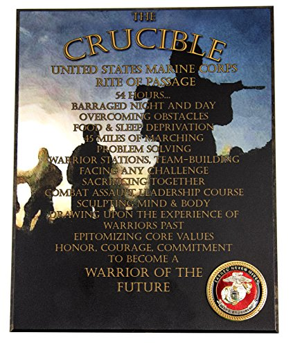 US Marine Corps – Crucible Completion Wall Plaque