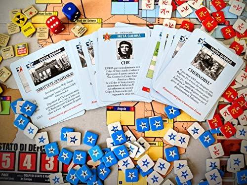 Asterion Twilight Struggle La Guerra Fredda 1945-1989 - Juego de Mesa (versión en Italiano) [Importado de Italia]: Amazon.es: Juguetes y juegos
