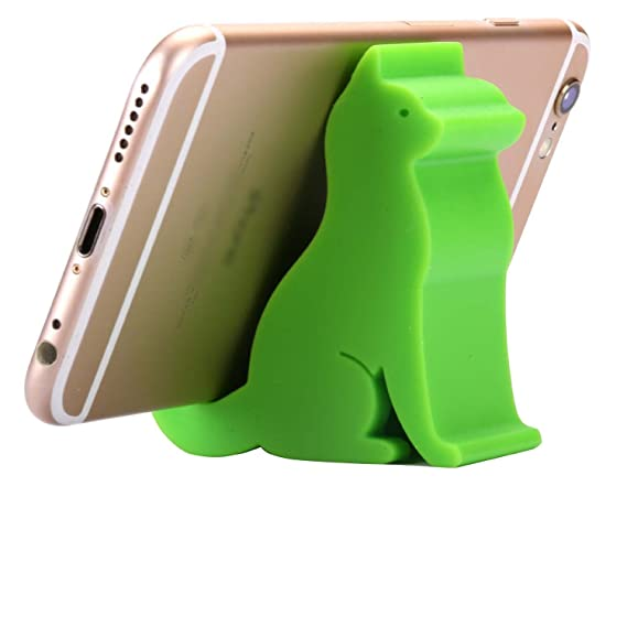 promo code 591d3 83228 Amazon.com: Plinrise Super Cute Phone Holder, Mini Cat Shaped Silica ...