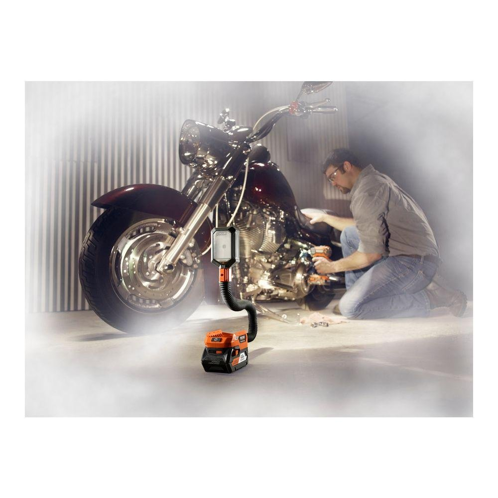 Tool-Only, Battery and Charger NOT Included Ridgid R8692B GEN5X 18-Volt Flexible Dual-Mode LED Work Light
