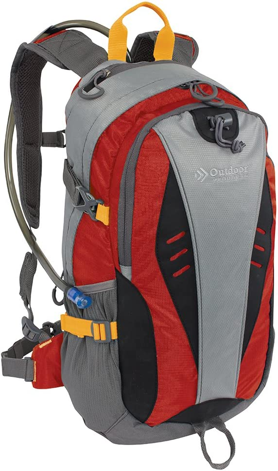 Outdoor Products Hydration Backpack with 2-Liter Reservoir, 17.7-Liter Storage