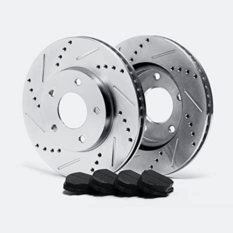 Max Advanced Brakes >> Max Advanced Brakes Max Ta025311 Front Silver Slotted Cross