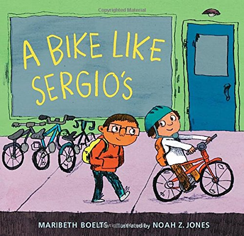 Price comparison product image A Bike Like Sergio's (A Junior Library Guild Selection)