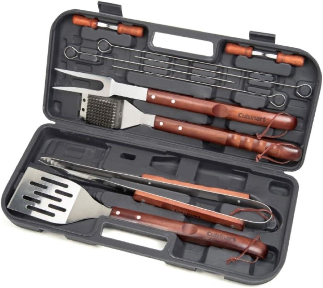 Cuisinart CGS-W13 Wooden Handle Tool Set (13-Piece) : Garden & Outdoor