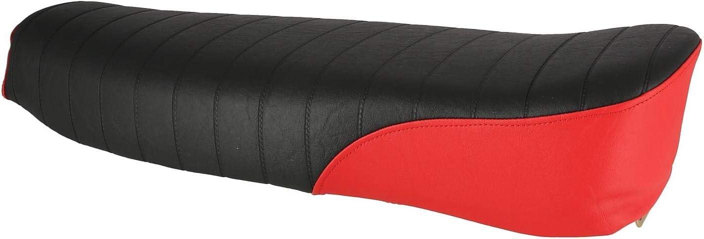S70 Enduro AKF Sitzbank strukturiert schwarz//rot ohne Schriftzug S51 f/ür Simson S50
