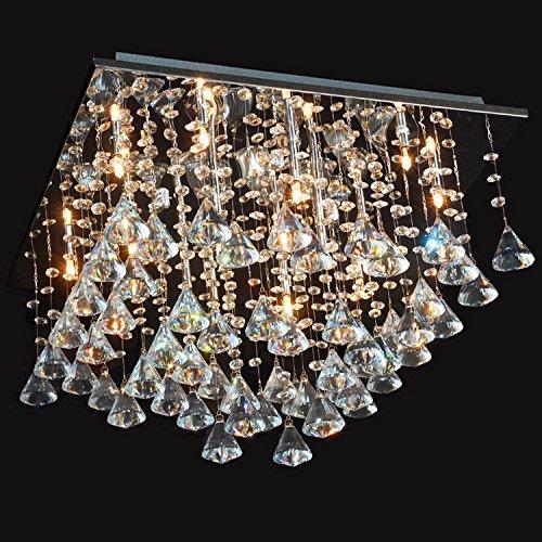 LightInTheBox Diamond Pendant Crystal ChandelierHome Ceiling Light Fixture Flush Mount, Pendant Light Chandeliers Lighting,Voltage=110-120V;Color=Warm White