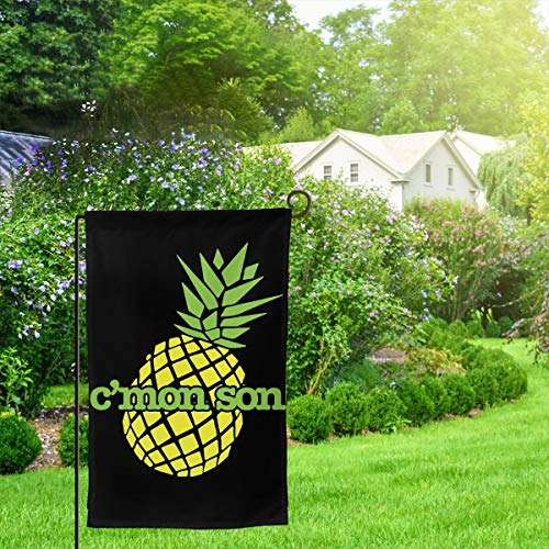 C'mon Son Psych Polyester House Flag Decorative Garden Flag Yard Banner Garden Flags (Two-sided) ()
