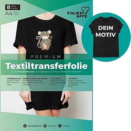 Inkjet Transferpapier bügelbar für dunkle Textilien Bügelfolie