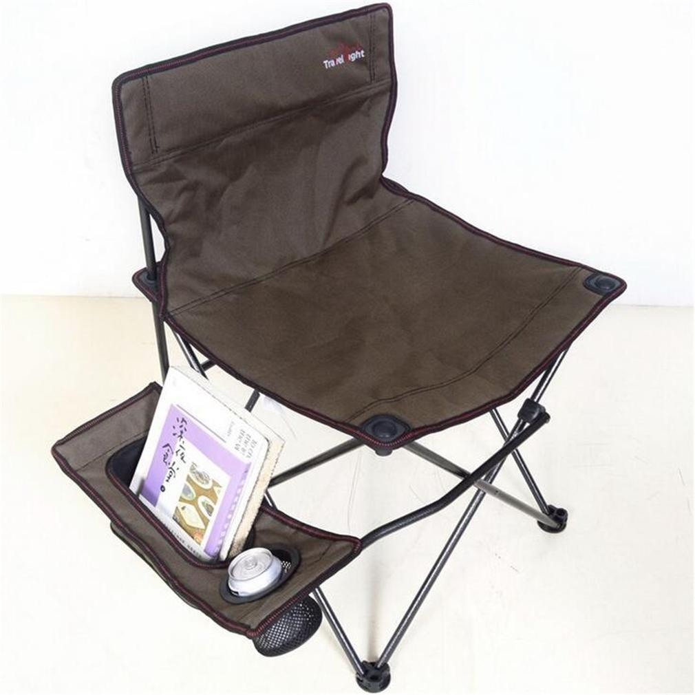 ZHDNG Klappstuhl im Freien Moon Chair Angeln Camping Strand im Freien Freizeit