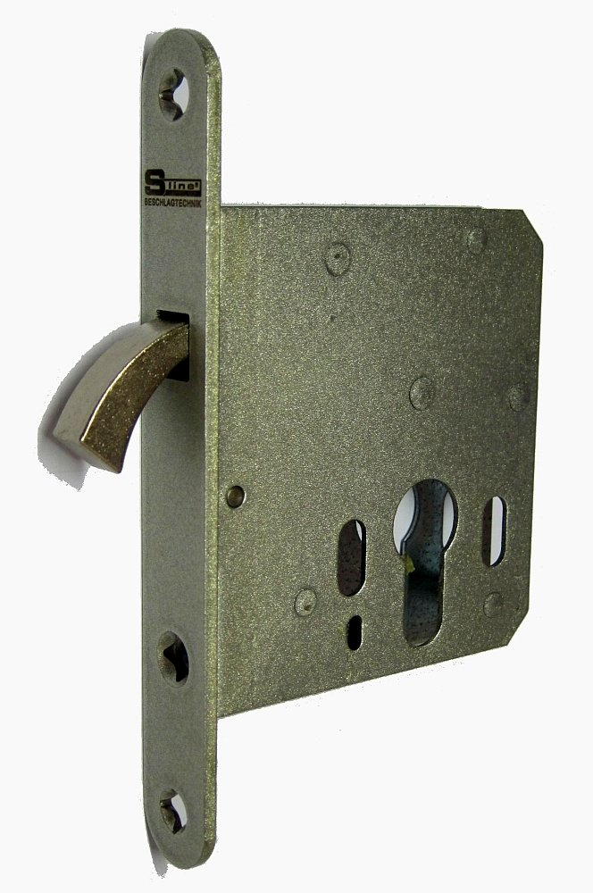 Sliding Door 162pz55.1 Mortice Lock for Sliding Doors Indoor with Compass and Strike Plate for Profile Cylinder RSW