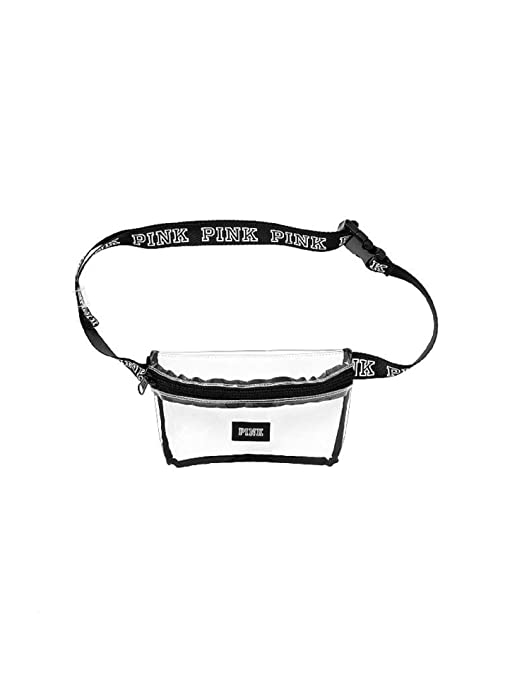 32f760ef20b9d NEW Victoria's Secret PINK Clear Fanny Pack Waist Bag Belt Bag NWT