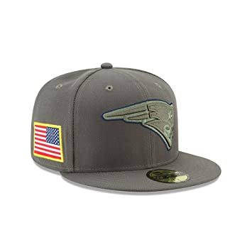062470864ae7aa New Era NFL NEW ENGLAND PATRIOTS Salute to Service 2017 Sideline 59FIFTY  Game Cap, Größe