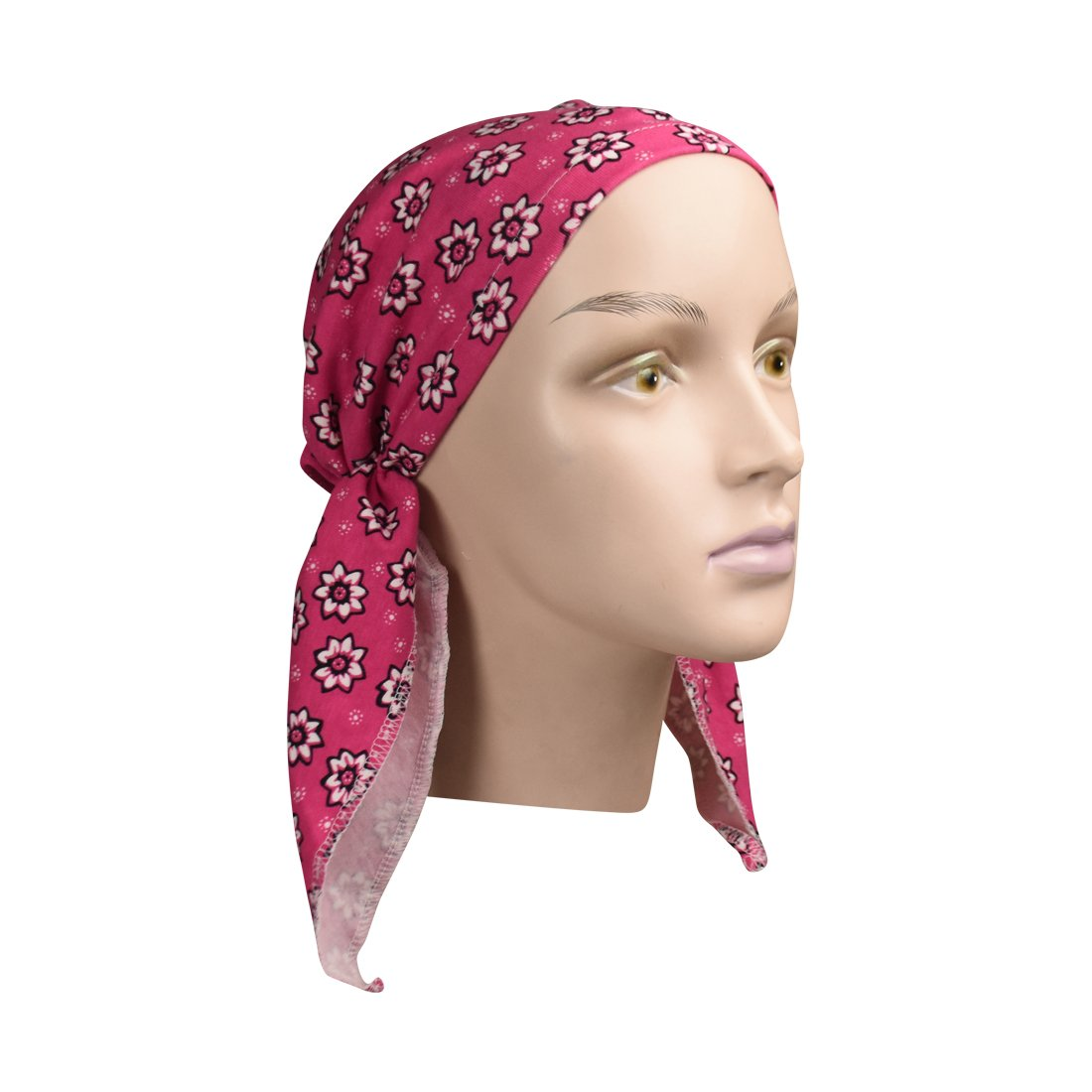 Made in the USA Chemo Cap Pretied for Girls Soft Cotton Cancer Scarf