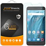 [2-Pack] Supershieldz For ZTE Blade Spark Tempered Glass Screen Protector, Anti-Scratch, Anti-Fingerprint, Bubble Free, Lifetime Replacement Warranty