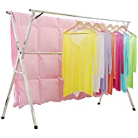 Stainless Steel Laundry Drying Rack Free Installed,foldable Space Saving,heavy duty