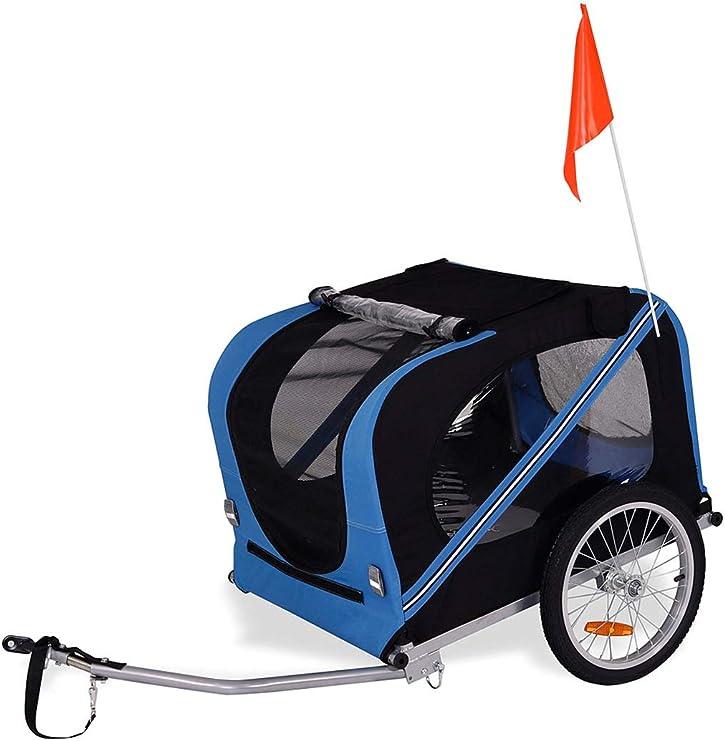 Dibea pt10756 Perros – Remolque para Bicicleta con Acoplamiento y ...