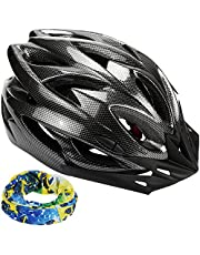 Zacro Bike Cycle bycicling Helmet Lightweight Skate Road Cycling Racing Helmet Specialized for Mens Womens Kids Boys Girls Safety Protection CPSC & CE Certified Road Helmet with Sport Headband