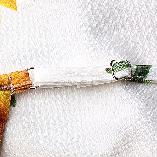Belongsci Femmes Tenue À Fines Bretelles Sans Manches Évasées Doux Balancement Plissé D'une Ligne Robe Patineuse Été Multicolor1
