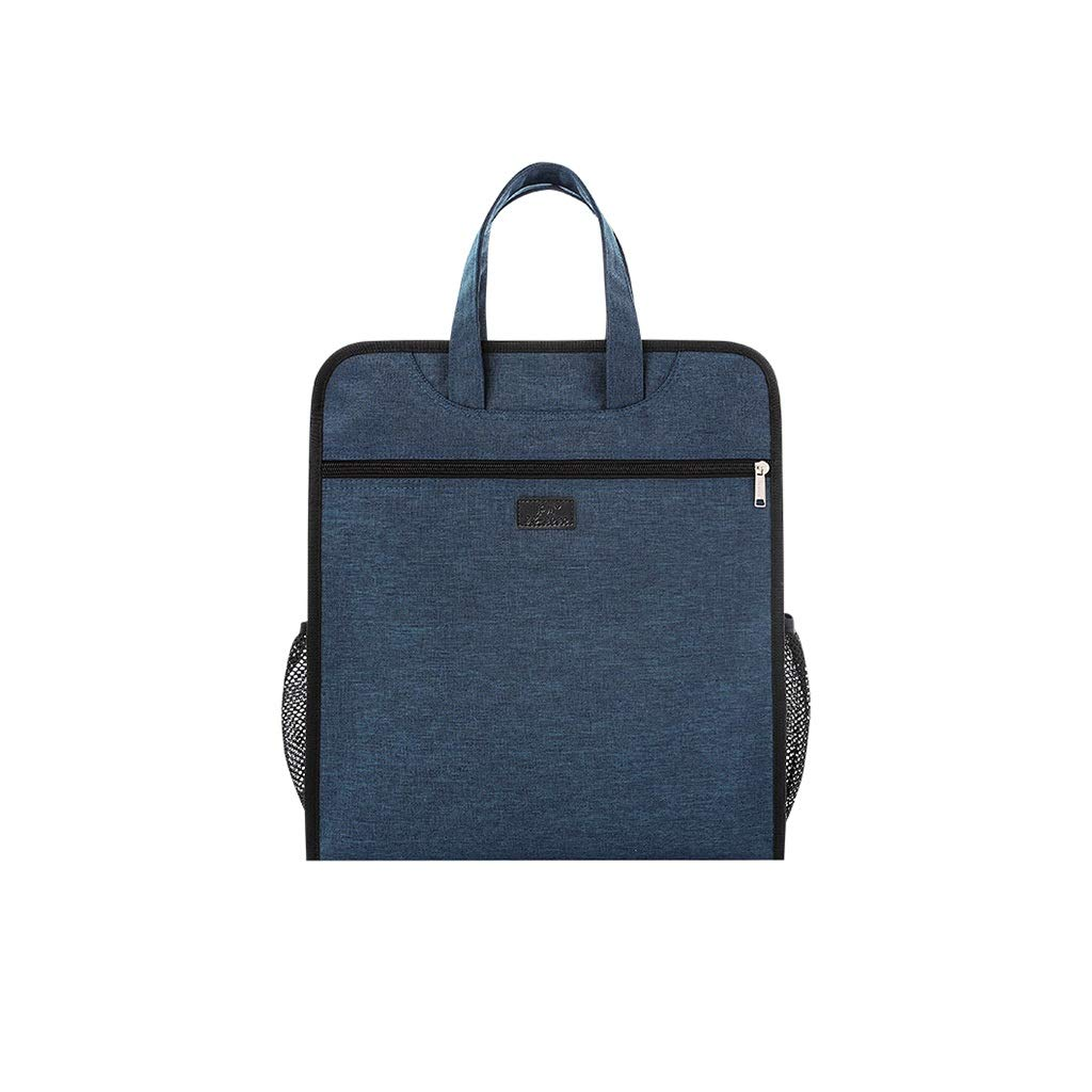 QSJY File Cabinets Waterproof Materials Bag, Handbag, Professional Office Capacity 33x36x8cm (Color : B, Size : 33x36x8cm) by QSJY File Cabinets