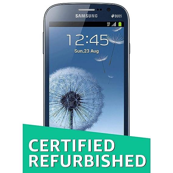 cf66b796d Renewed) Samsung Galaxy Grand Duos GT-I9082 (Metallic Blue)  Amazon ...