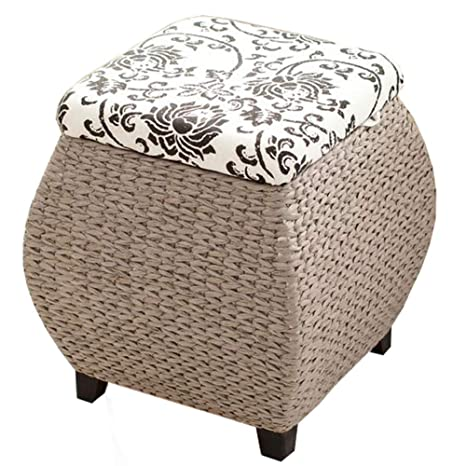 Enjoyable Amazon Com Footstool Ottoman Pouffe Shoe Bench Solid Wood Gamerscity Chair Design For Home Gamerscityorg