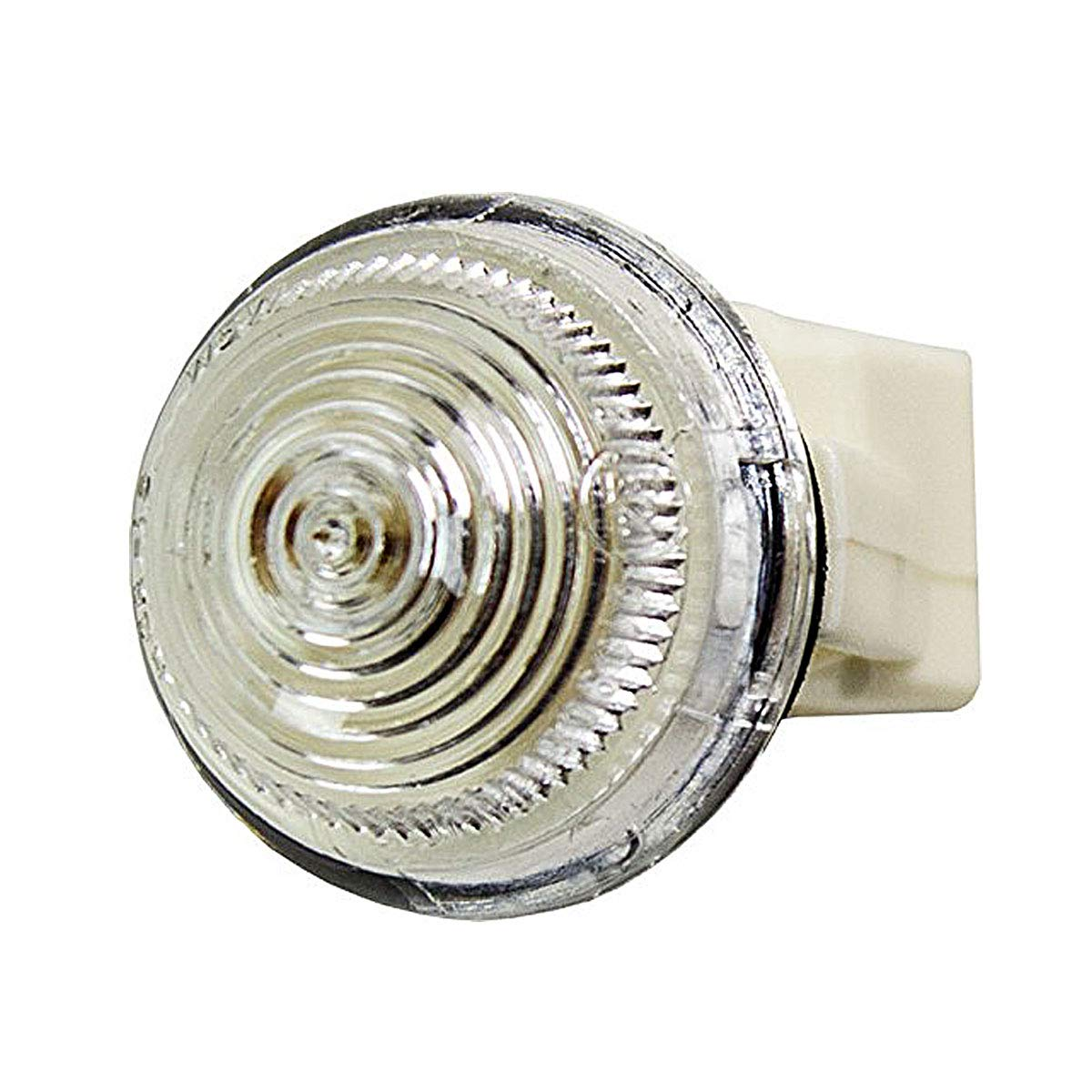 Bianco per SEICENTO dal 1998 a 2000 Fanalino Freccia Laterale Destro//Sinistro con Porta Lampada