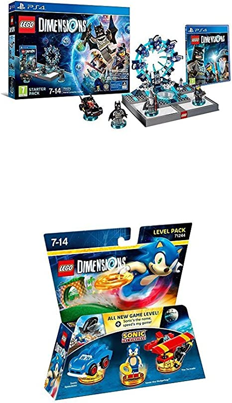 LEGO - Starter Pack Dimensions (PS4) + LEGO: Sonic The Hedgehog ...